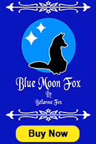 Blue Moon Fox by Bellarose Fox