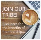 Join our tribe! Click here for the benefits of membership!