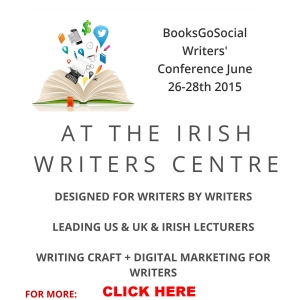 Books Go Social Writers Conference at The Irish Writers Ccentre