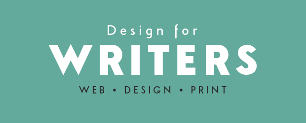 Design for Writers - web, design & print services