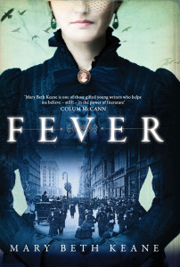 Fever book cover, historical fiction, Ireland