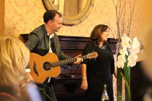 Mary Black singing for Brendan Kennelly