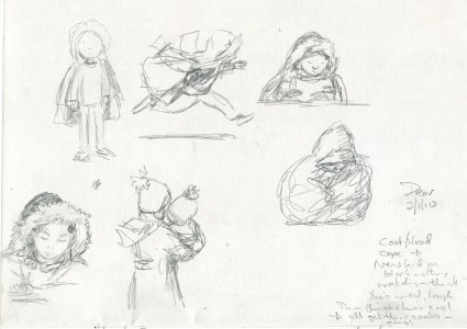 MLF The New Kid first sketches