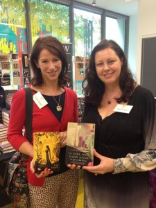 Me and Australian author, Kate Forsyth, author of Bitter Greens and The Wild Girl.