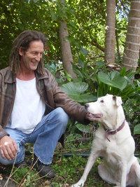 martin_mckenna_and_snowy_the_rescue_dog 200x300