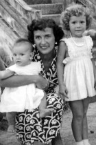 Dinah, mother and sister, Malaya