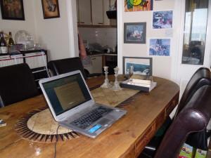 Tanya's workspace