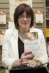 Irish Examiner Reporter Ann O'Loughlin at the launch of 'The Ballroom Cafe' in Dubray, Grafton Street. Picture by Fergal Phillips