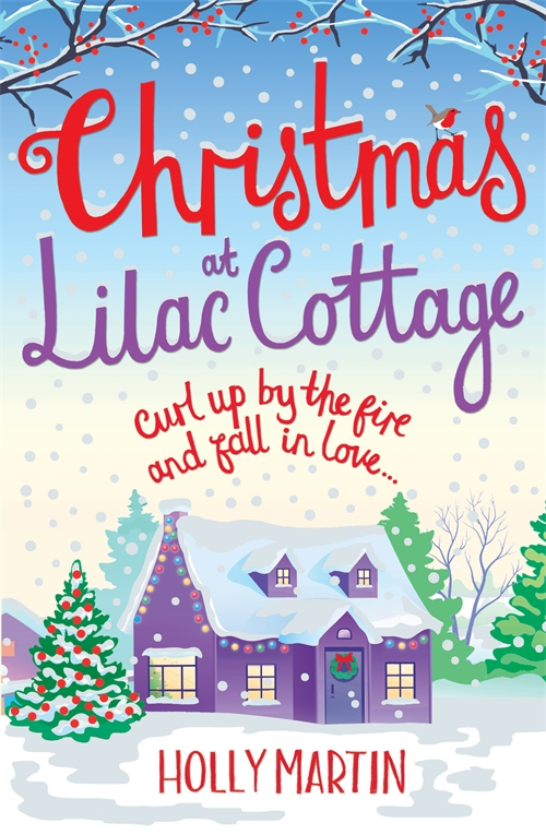 Holly Martin on Christmases at Lilac Cottage