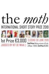 Competition: The Moth Short Story Prize 2019