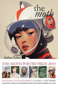 Competition: The €10,000 Moth Poetry Prize 2019