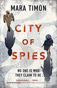 City of Spies 194x300 - Inspiration and Challenges: Metropolis of Spies by Mara Timon