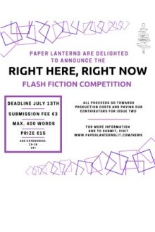 Right Here, Right Now Flash Fiction Competition