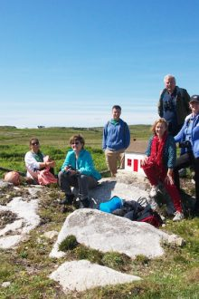 A visit on Gola island provides inspiration for participants from Australia, England and the United States